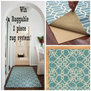 Born 2 Impress Everything Home Event-Ruggable Rugs System -Create a New Look in Any Room in 5 Minutes! #Giveaway