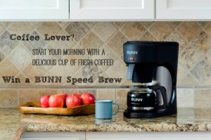 Introducing the  BUNN Speed Brew Coffee Maker!