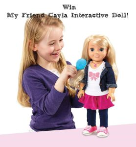 My Friend Cayla Interactive Doll Review and Giveaway