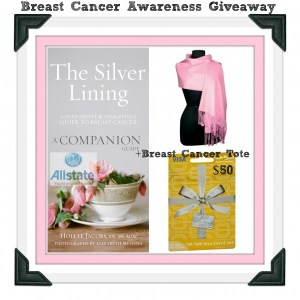 Allstate Insurance and HoIlye Jacobs-   Breast Cancer Awareness Month Giveaway