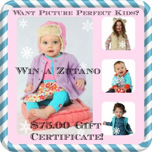 Zutano's Kids Clothing Giveaway and Discount Code!
