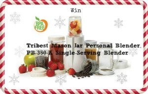 Make Smoothies In Seconds With the  Tribest Mason Jar Personal Blender, PB-350-A Single-Serving Blender!