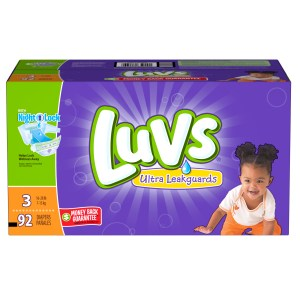 Luvs, in Partnership with Ibotta, is Offering a Limited-time $5 Rebate on any Boxed Variety of Luvs Diapers, 54ct. Box or Larger! #SharetheLuv