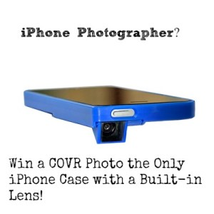 Win a COVR Photo the Only iPhone Case With a Built-in Lens
