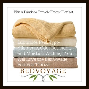 The Luxurious Softness of Bamboo in a Travel Blanket