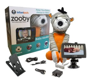 Keep Your Baby Always in View with the Infanttech Zooby 4.3″ Video and Audio Baby Monitor!