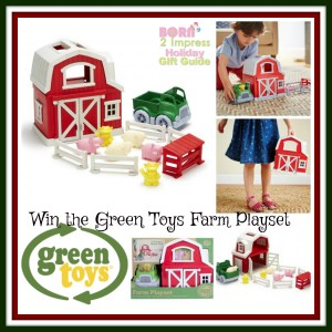 Fun on the Go with the Green Toys Farm Set!