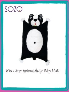 Sozo Animal Shape Baby Mats are Fun and Cute!