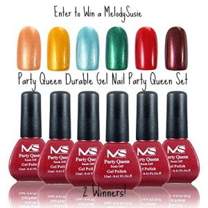 Get Salon Quality Nails for Valentine's Day with the MelodySusie Durable Gel Nail Polish Set Giveaway!