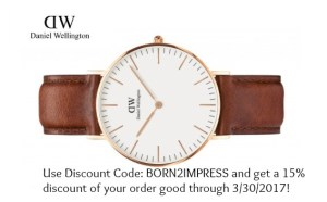 A Timeless Piece for Valentine's Day- Daniel Wellington Classic St. Mawes Watch Review and Discount Code