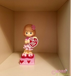 Precious Moments Valentine's Day figures that are available at Publix Stores!