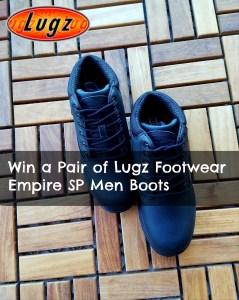 Win a Lugz Men Boots!