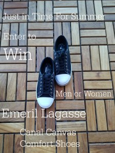 Kick it up a Notch- The New Emeril Lagassee Shoe Line Casual and Comfortable Footwear for the Summer