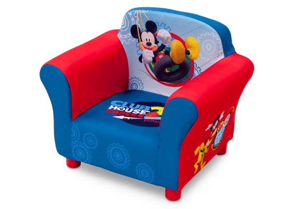 Kid's Furniture- Dlelta Children Mickey Mouse Upholstered Chair