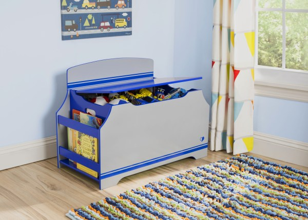 Kid's Furniture-Delta Children Jack and Jill Toy Box