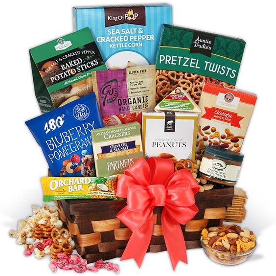 Gourmet Gift Basket Healthy Gift Basket Classic