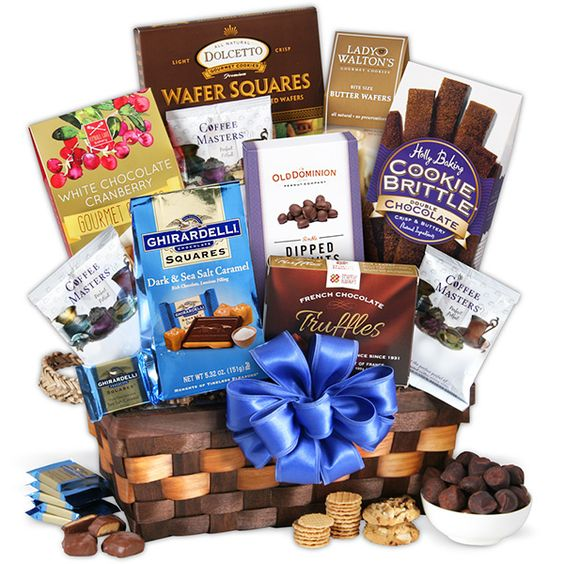 Gourmet Gift Basket Coffee & Chocolates Gift Basket Classic
