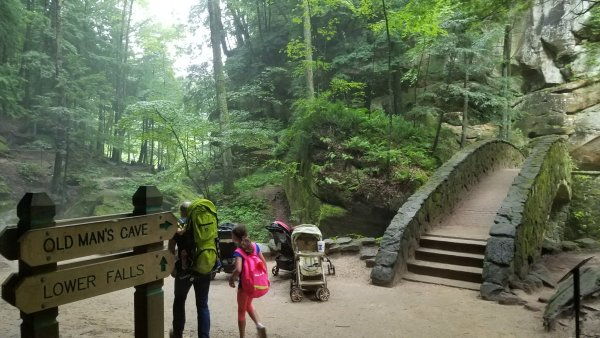 Old Man's Cave - Hocking Hills Park - Ohio