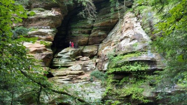 Rock House - Hocking Hills Park - Ohio