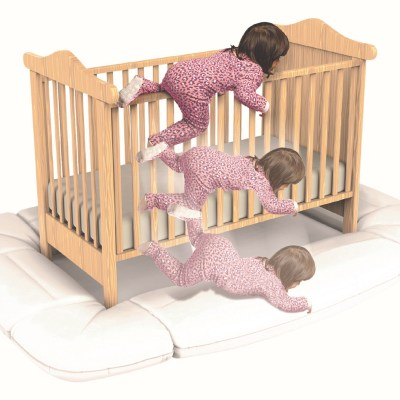 Prevent Crib Accidents with the DreamCatcher!