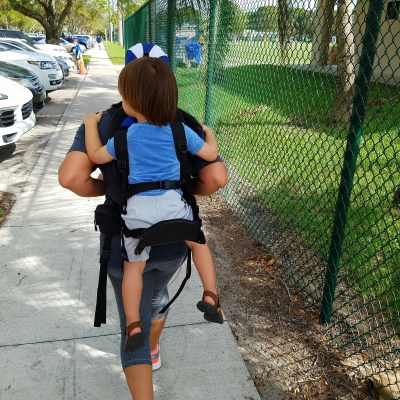 Gearing up for my Next Adventure- Freeloader Child Carrier Review and Discount Code