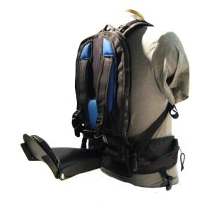 child carrier, outdoors