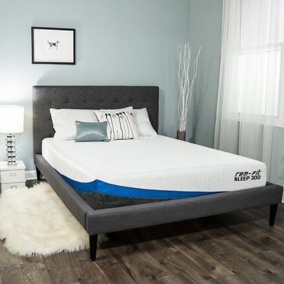 The Proper Bed Mattress can Improve your Life Quality -The No-Flip REM-Fit Sleep 300 Cooling Gel Memory Foam Mattress is the Best Choice for Me