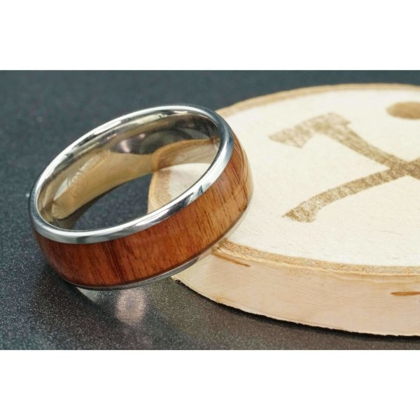 wooden wedding bands