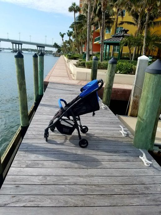 travel with skids, strollers