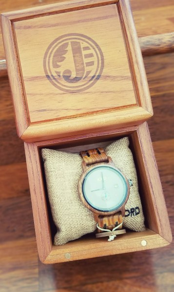 Jord Wood Watch and box
