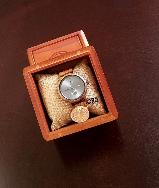 Jord Hyde- Wood watch for a fathers day gift