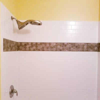 Bathroom Update With the Delta Faucets UpStile Wall System