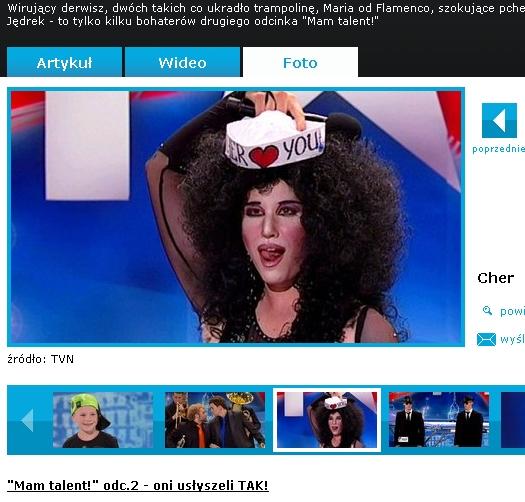 Darek jako Cher