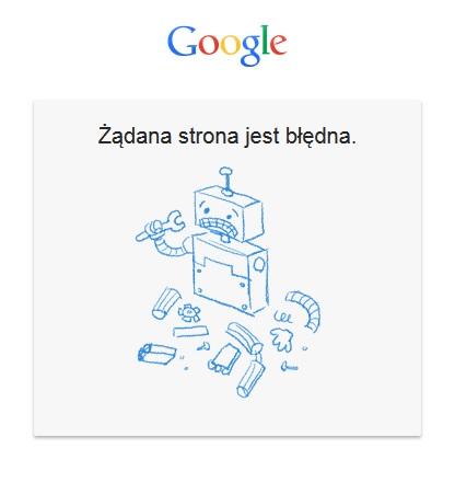 strona-google-bledna