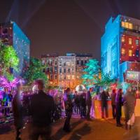 Light Festivals and Flea Markets