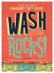 Sunday (Noon): Wash Ave. Rocks! Street Fair