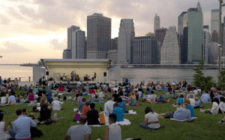 Monday (7pm): Jazzmobile at Brooklyn Bridge Park with music from the Bobby Sanabria Multiverse Big Band