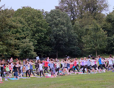 Thursday (7pm): Free Yoga in Prospect Park