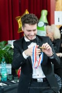 la médaille du vainqueur