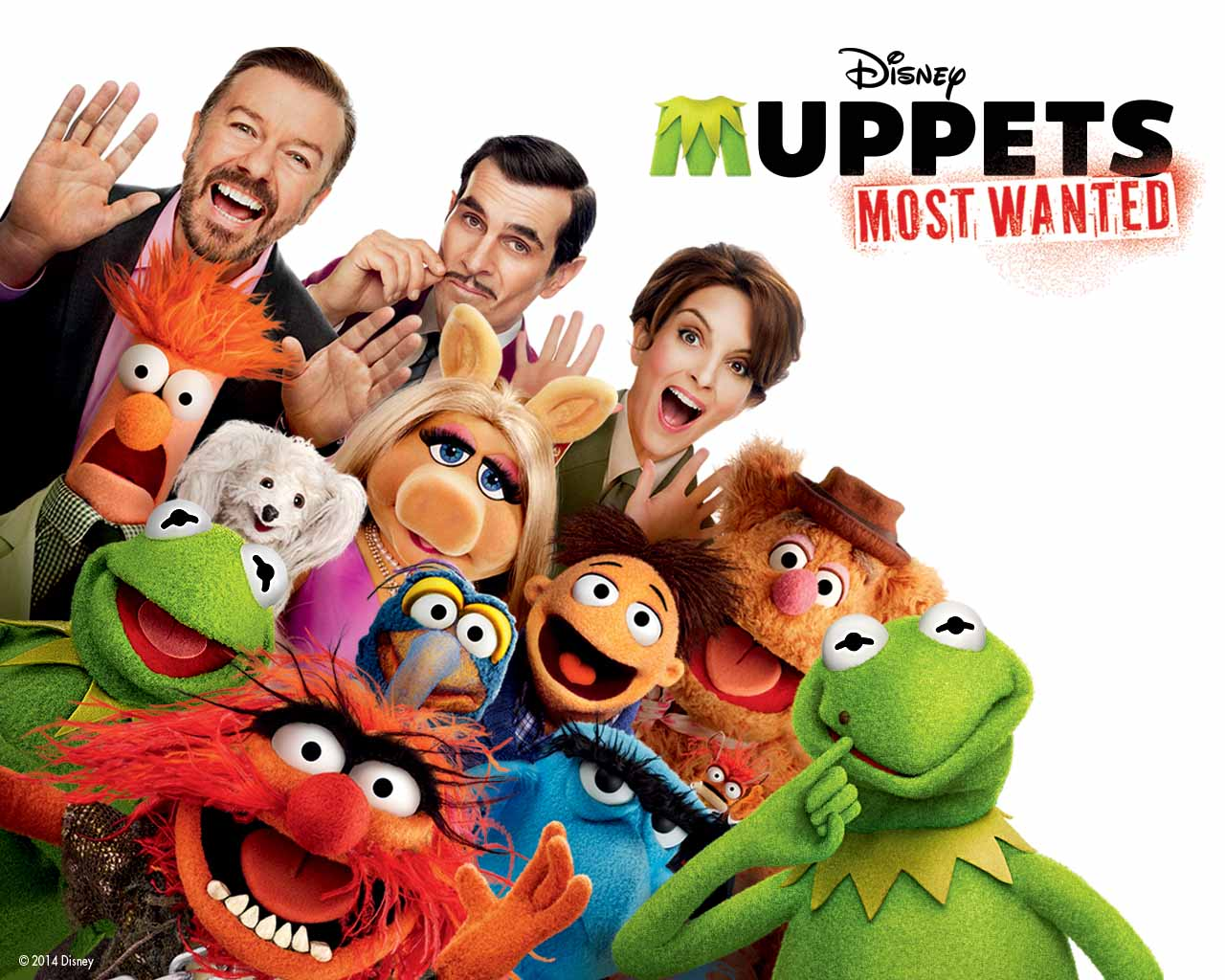 Muppets Most Wanted And Disneyworld