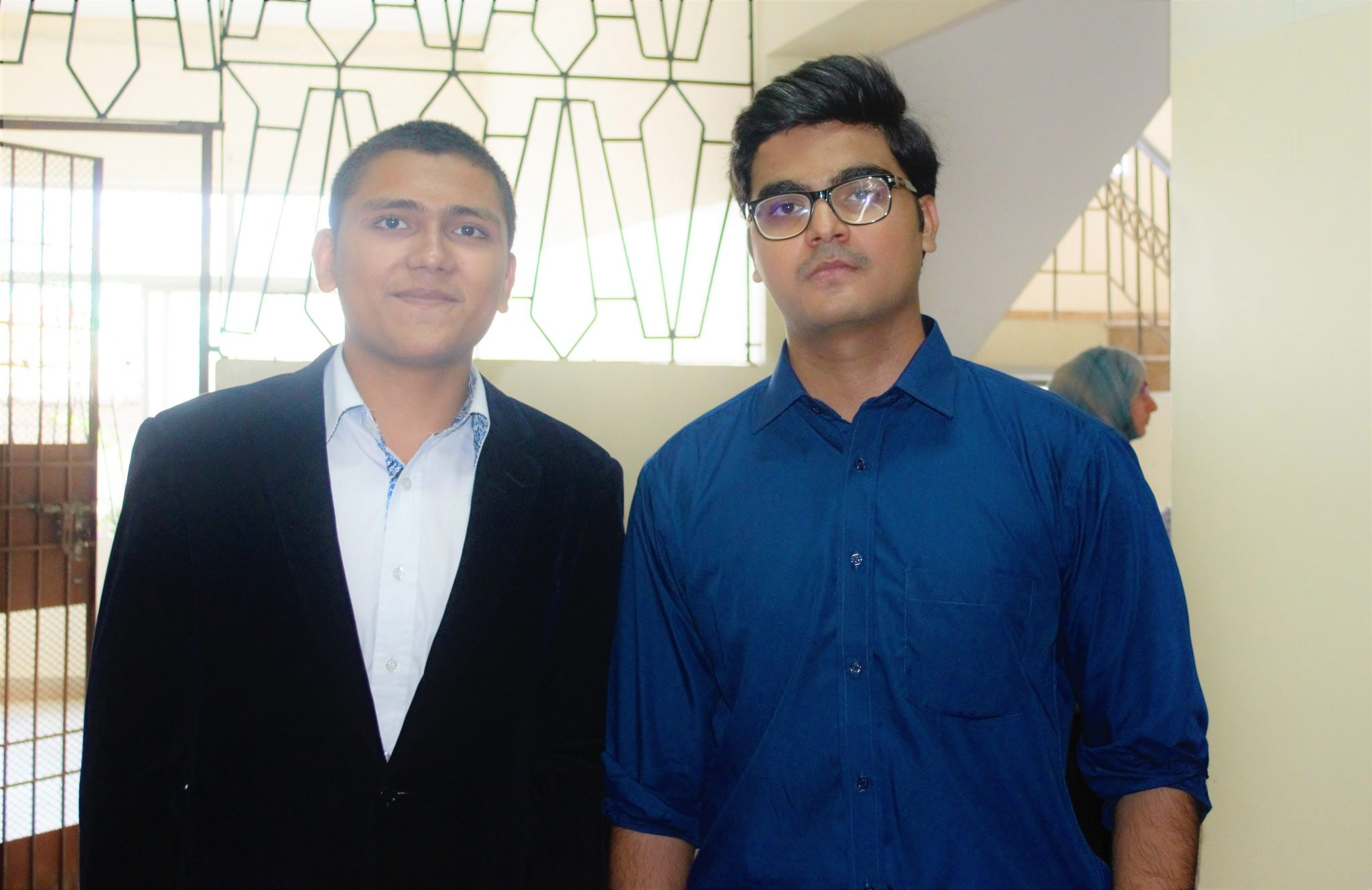 Abdul Samad Essani With Syed Faizan Ali At Workshop