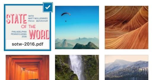 PDF Thumbnail Preview