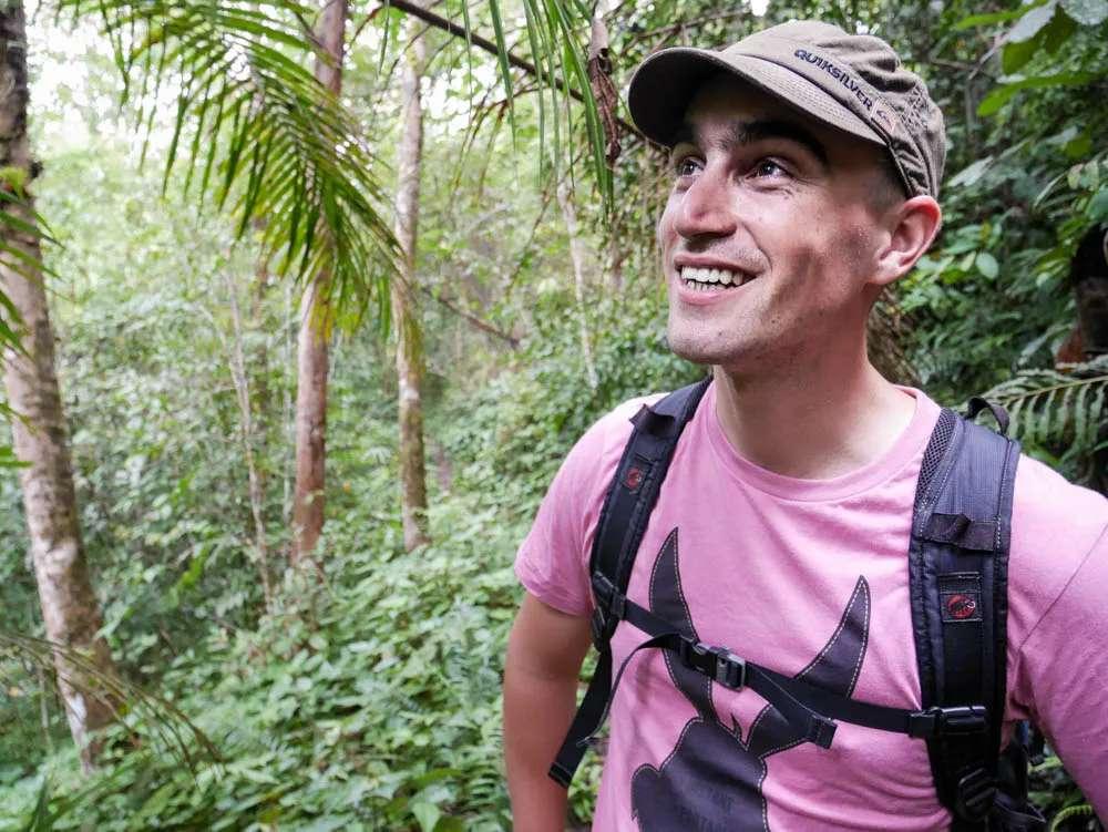 hike through the Borneo rainforest.