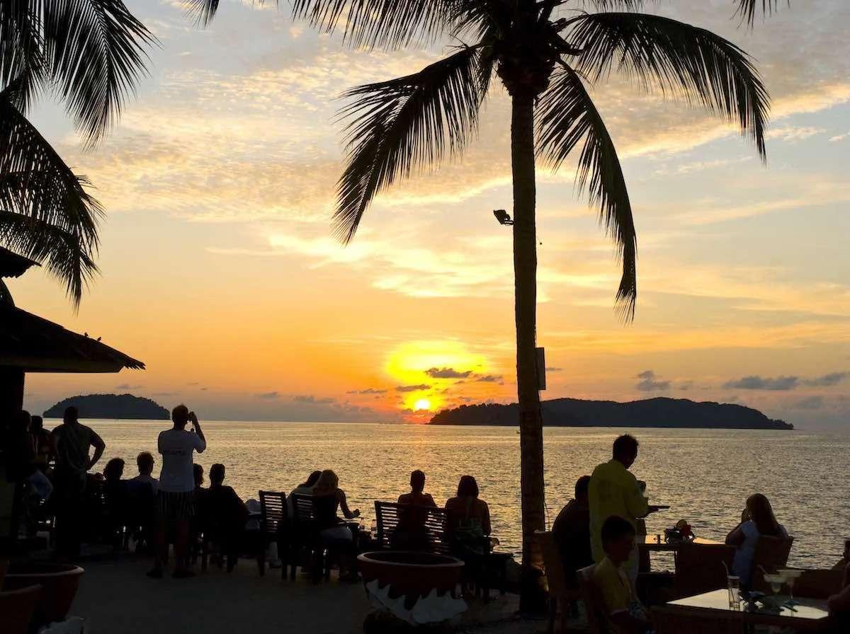 Sunset Kota Kinabalu