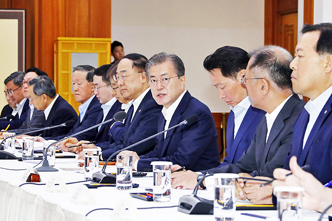 South Korean leader denounces Japanese comments over sanctions 2