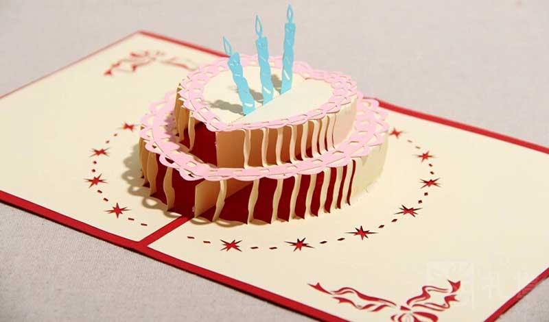 как сделать торт открытку на день рождения