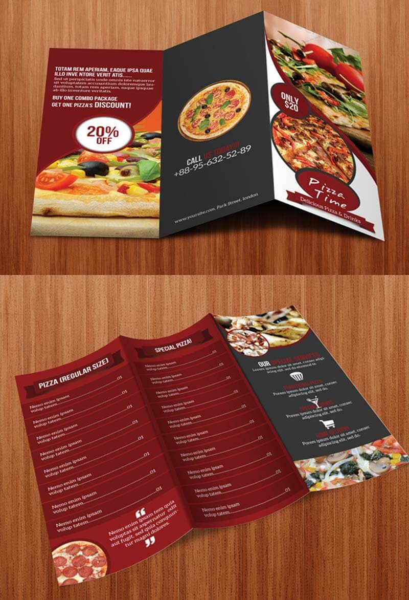 Contoh Brosur Dalam Bahasa Inggris Pamflet Leaflet 51 Gambar