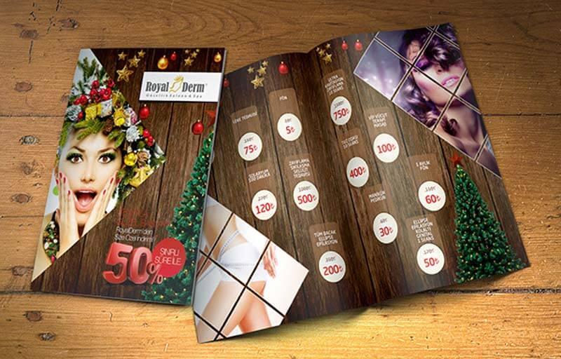 contoh brosur promosi perawatan kecantikan