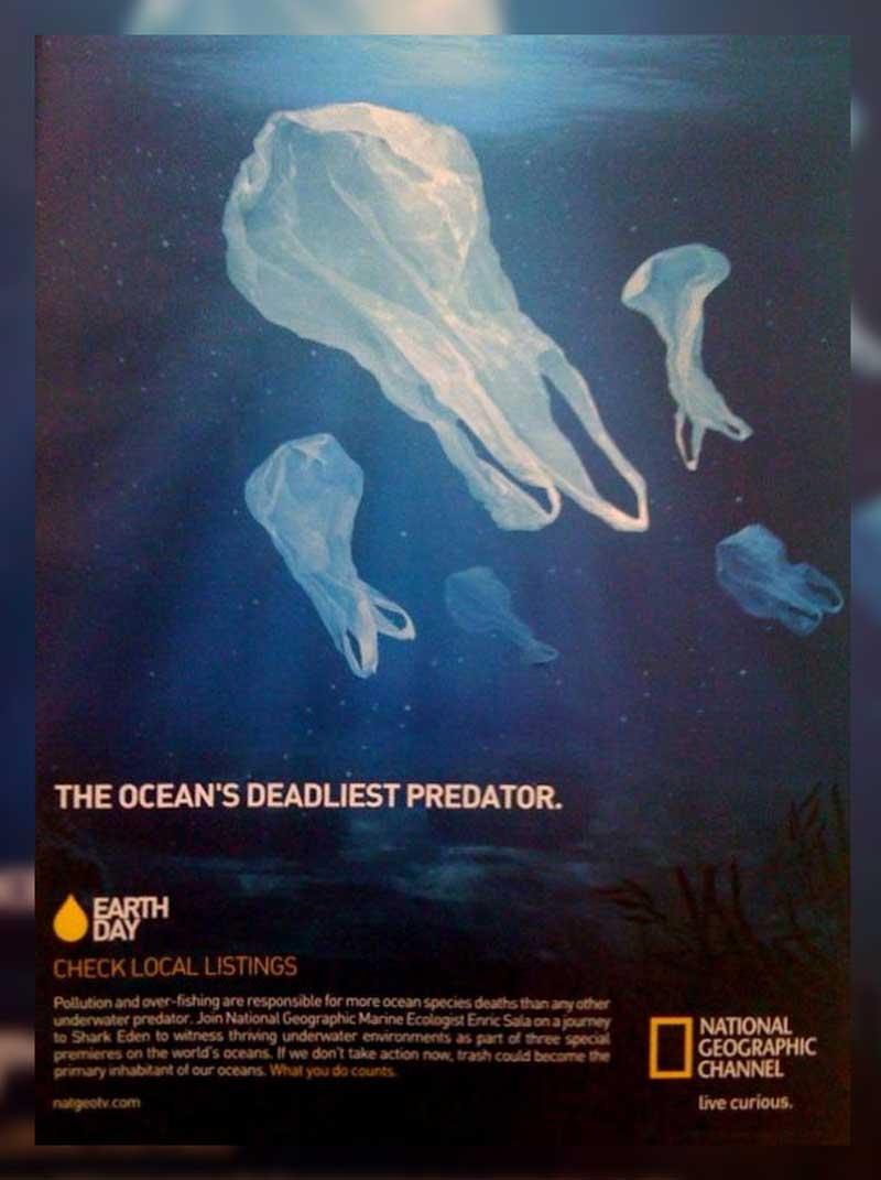 Poster Pencemaran Plastik