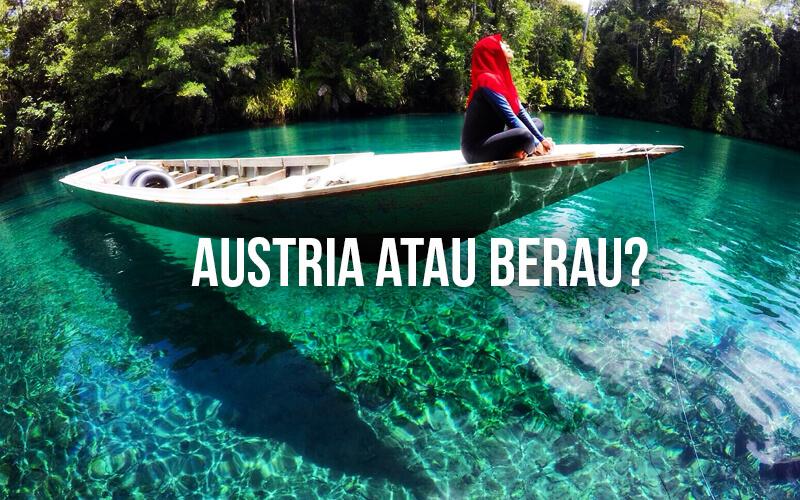 Danau Labuan Cermin Kalimantan Tak Kalah dengan Grüner See-nya Austria